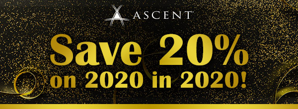 Save 20% on 2020 in 2020!
